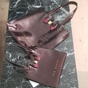 A Set of Two Ted Baker Matching Icon Bags